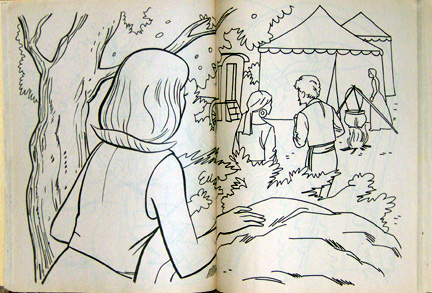 in 1977 grosset dunlap through its division known as treasure books published two nancy drew coloring books for fans of the teen detective series - Nancy Drew Coloring Pages